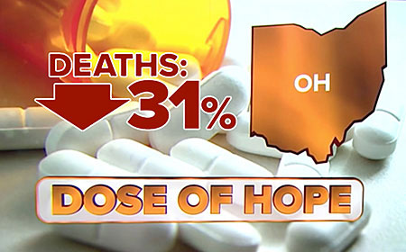 Overdose deaths decreasing thanks to free narcan